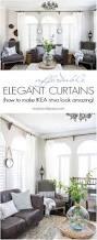 Ikea Ritva Curtains Classy Yet Affordable White Curtains Maison De Pax