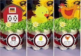 baby shower barnyard farm animals diaper cake centerpiece u2013 pavia