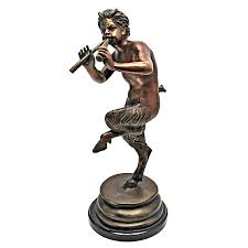 pan greek god of the forest statue medium su4565 design toscano