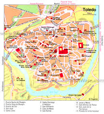 Mallorca Spain Map by Toledo Map Tourist Attractions Http Www Tripomatic Com Spain