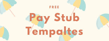 doc 640352 check stubs template free u2013 10 pay stub templates