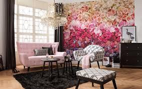 Schlafzimmer Romantisch Dekorieren Blog Romantische Fototapeten Mit Floralen Motiven