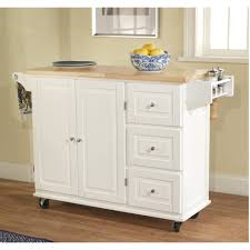 enchanting real simple rolling kitchen island in white with fresh