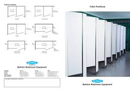 bathroom stalls phenolic featured mounting configurations show
