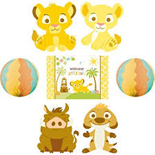 lion king baby shower supplies lion king baby shower room decorating kit party