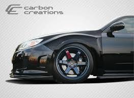 subaru sti 2011 custom 2013 subaru impreza all carbon fiber fibre fender bodykit 2008
