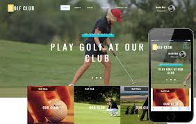 golf club a sports category bootstrap responsive web template