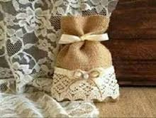 burlap wedding favor bags lace bags wedding favors online shopping the world largest lace