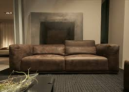 Large Leather Sofa Nabucco Leather Sofa Cierre Furniture Modern Leather Sofas