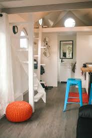 a custom 280 square feet tiny house on wheels built by robert