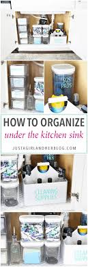 the kitchen sink cabinet organization how to organize the kitchen sink abby lawson