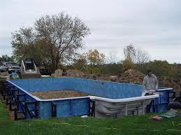 vinyl liner pool construction custom inground swimming pool builder