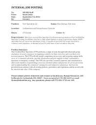 sample of cover letter for any job vacancy gallery letter
