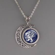 Custom Necklace Dragon Age Wardens Necklace Symbol Logo Pendant Crest