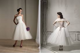wedding trends tea length bridal gowns belle the magazine