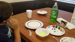 our science experiment soap milk food coloring by steven