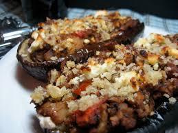 pecan stuffed eggplant veggin u0027
