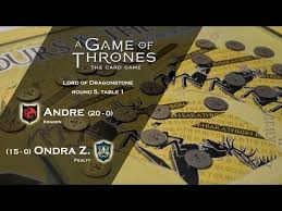 game of thrones dragonstone table lord of dragonstone round 5 table 1 youtube