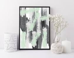 Mint Green Home Decor Mint Green Decor Etsy