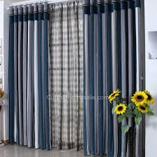 Striped Living Room Curtains by Blue Living Room Curtains U2013 Modern House