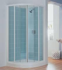 White Shower Door 900mm Quadrant Shower Enclosure White