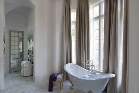 High Ceiling Curtains by Bathroom With High Ceiling Transitional Bathroom Thompson