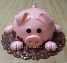 pig cake my cakes pinterest cake fondant and birthday cakes