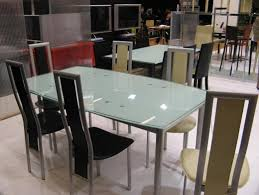 table en verre cuisine table cuisine en verre maison design wiblia com