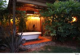 Ideas For Landscaping Backyard On A Budget Use A Salvaged Tub To Turn Your Backyard Into A Soothing Oasis