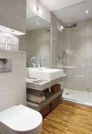 kleine badezimmer lã sungen glasdusche ecke kleines bad einrichten ideen beleuchtung inside