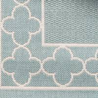Suzanne Kasler Quatrefoil Border Indoor Outdoor Rug 7 Stylish Outdoor Rugs Made To Brave The Elements Atlanta Magazine