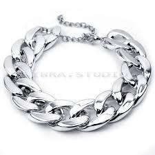 silver chain bracelet ebay images Women retro curb chunky chain anklet bracelet foot barefoot sandal jpg