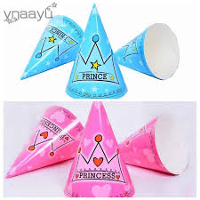 happy birthday hat ynaayu 6pcs set princess and prince party hat happy birthday hats