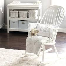 Wooden Rocking Chair For Nursery Wooden Baby Rocking Chair Rocking Chair Design White Colored