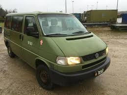 volkswagen syncro 4x4 vw transporter 4x4 syncro equipment used by the army for sale