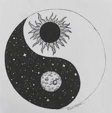 moon sun yin and yang tattoos i want moon yin