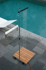 10 easy pieces freestanding outdoor showers gardenista