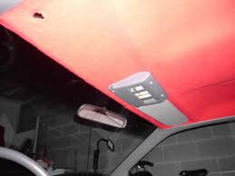 Interior Car Roof Liner Repair Diy Headliner Brand New Using White Glue For Under 10