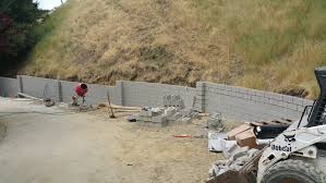 4 cinder block retaining wall bay area all access 510 701