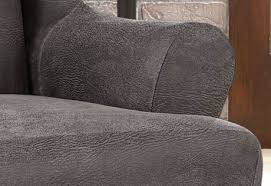 Leather Slipcover Sofa Ultimate Stretch Faux Leather Sofa Cover