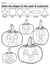 free printable jack o lantern shapes coloring pages shapes