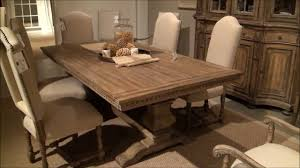 wood rectangular dining table sorella rectangular trestle dining table by hooker furniture home