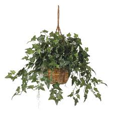 yes hanging plants artificial plants u0026 flowers home accents
