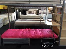 bunk bed with futon chair and desk best home furniture decoration