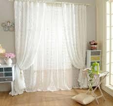 rideau pour chambre unikea en forme de blanc tulle rideau pour chambre salon