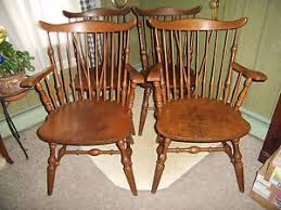 Windsor Maple Chairs Hale pany Arlington Vermont Two Side Two