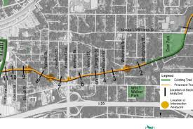 New Orleans Trolley Map by Eastside U0027s Trolley Line Trail Could Score Money For Extension Via