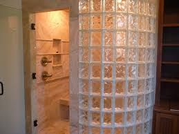 ergonomic glass shower blocks 50 glass block shower stall designs