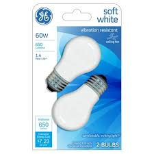 23 volt 3 watt light bulbs ge 60 watt ceiling fan incandescent light bulb 2 pack soft white