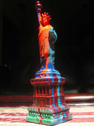 paint splattered statues christopher husary brings color to the